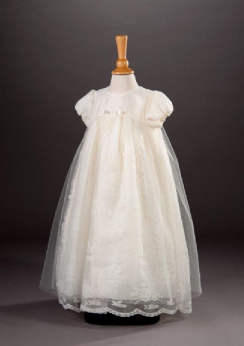 Anna Christening Gown and Bonnet